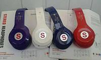 Bluetooth наушники S460S Красный