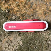 Дата кабель i-mee / melkco 3 в 1 (microUSB/30pin/lightning), цвет Белый / Красный