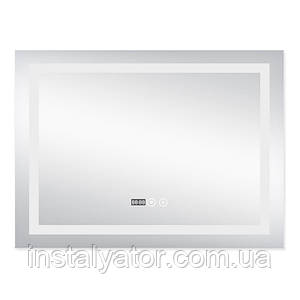 Зеркало с подсветкой и антизапотеванием Q-tap Mideya LED DC-F904 800*600