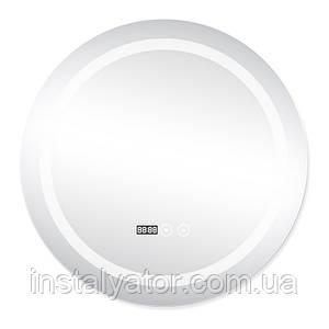 Зеркало с подсветкой и антизапотеванием Q-tap Mideya LED DC-F803 600*600