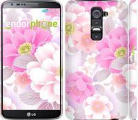 """Чехол на LG G2 Цвет яблони """"2225c-37"""""""