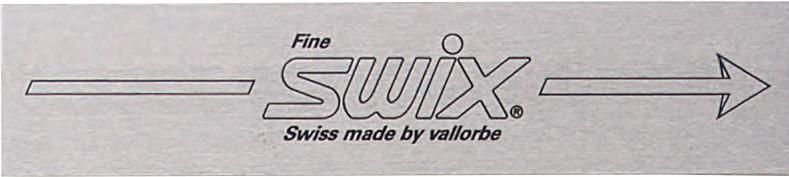 Напильник Swix T0103X100B стальной финальный 17 зубьев/см 100mm