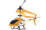Вертолет аккум р/у 33008 желтый, фото 3