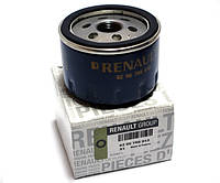 Фильтр масляный Renault Megan II - 2.0i 16V (F4R). Оригинал Renault - 82 00 768 913