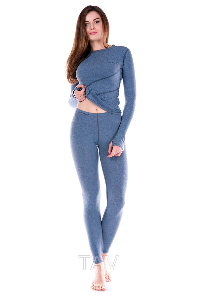 Женские Термолосины Totalfit TWS11 M Серый с голубым