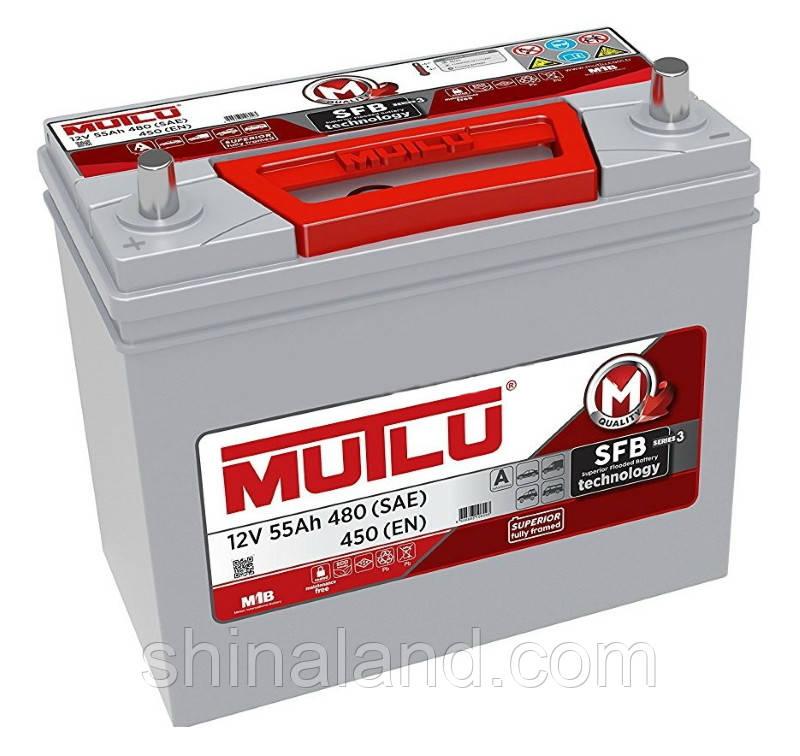 Мутлу / Автомобильный аккумулятор Mutlu SFB (B24): 55 Ач, плюс: слева, 12 В, 450 А - (B24.55.045.F), 237x127x222 мм