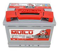 Автомобильный аккумулятор Mutlu SFB (L2): 60 Ач, плюс: слева, 12 В, 510 А - (L2.60.051.B), 242x175x190 мм