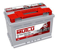 Автомобильный аккумулятор Mutlu SFB (LB3): 75 Ач, плюс: справа, 12 В, 720 А - (LB3.75.072.A), 278x175x175 мм