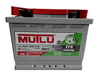 Автомобильный аккумулятор Mutlu Start-Stop EFB (L2): 63 Ач, плюс: справа, 12 В, 600 А - (EFB.L2.63.060A), 242x175x190 мм