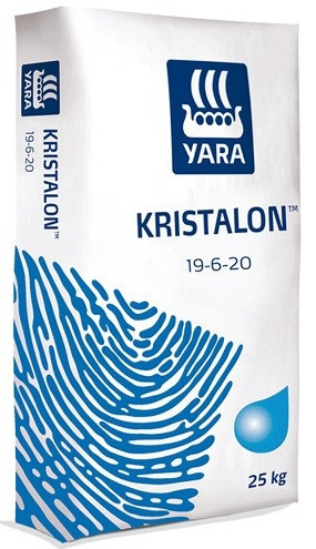 Удобрение YaraTera KRISTALON 19-6-20 BLUE LABEL 25 кг