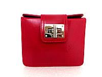 Жіноча сумочка-клатч. Модель L064. Червона. Натуральна шкіра., фото 1
