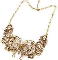 Ожерелье воротник бабочка tb1201