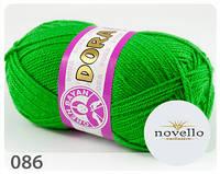 Madame Tricote Paris Dora № 086 зелений