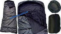 """Спальный мешок одеяло с капюшоном, Зимний Спальник """"Турист"""" (до -10 *)"""