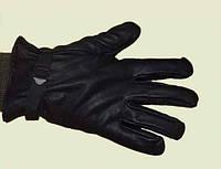 Перчатки мужские кожаные, армейские, с шерстяным вкладышем, ВС Бельгия