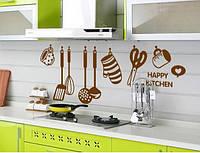 Интерьерная наклейка для кухни AY6017, интерьерная наклейка на стену