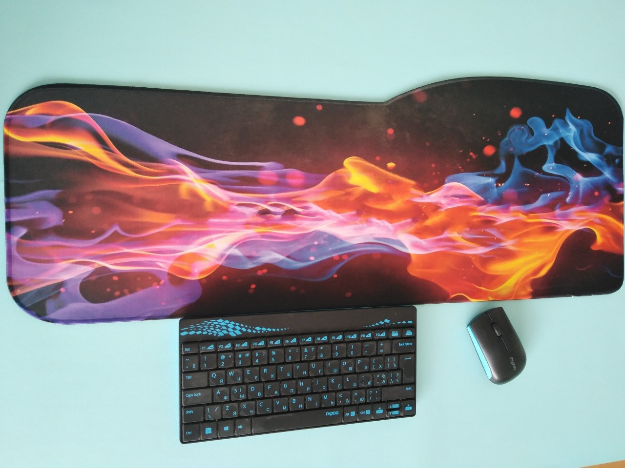 Коврики для мыши  Пламя ( Flame ) 800х300х2мм