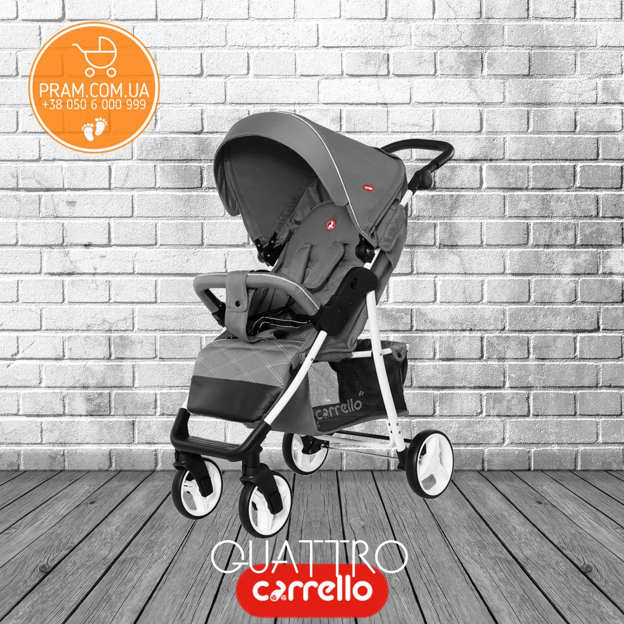 Carrello Quattro CRL-8502/2 2019 прогулочная коляска Fog Gray Серый