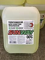 Жидкость для систем отопления SUNWAY -30* 10л