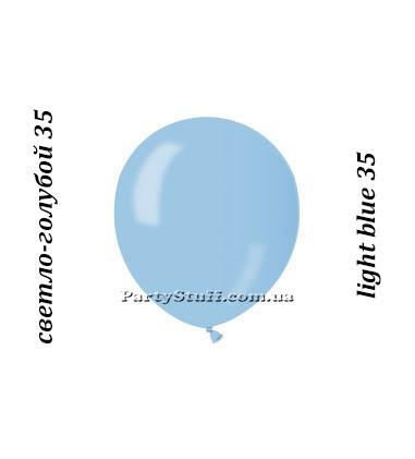 Воздушные шарики Gemar АМ50 металлик ГОЛУБОЙ