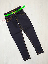 Джинсові брюки для дівчинки, Угорщина, S&D, рр. 110-116, арт. 021