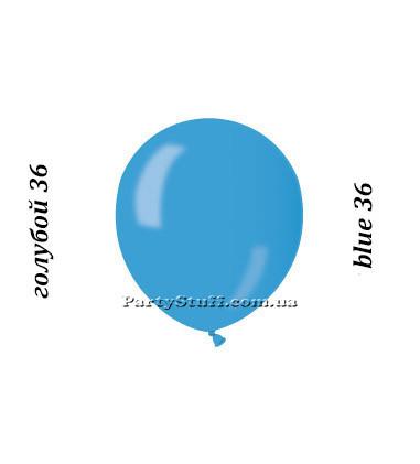 Воздушные шарики Gemar АМ50 Голубой металлик