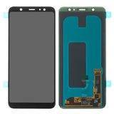 Дисплей модуль Samsung A605F Dual Galaxy A6+ (2018) в зборі з тачскріном, чорний, оригінальний, #GH97-21878A
