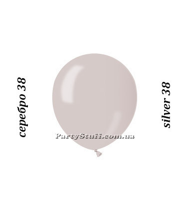 Надувные шарики Gemar АМ50 Серебристый металлик
