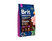 Сухой корм Brit Premium Dog ADULT S  Корм для собак мелких пород (1-10 кг) 8 кг