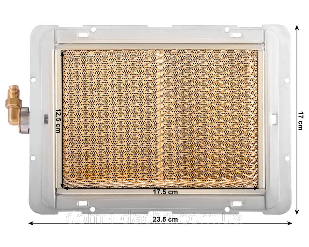 Горелка газовая керамическая инфракрасного излучения VITA-2 кВт