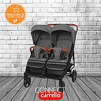 CARRELLO CONNECT Len CRL-5502 прогулочная коляска для двойни Ink Gray Темно-серый