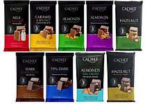 Шоколад CACHET (КАШЕТ) 9 вкусов в ассортименте Бельгия 300г