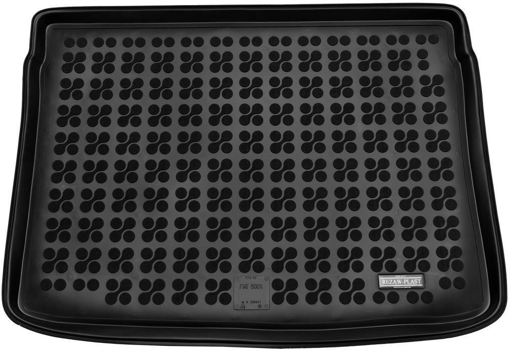Коврик в багажник резиновий Fiat 500X 2014 - до та після ліфтігну (з запасним колесом) Rezaw-Plast 230347