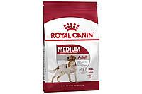 Сухой корм Royal Canin Medium Adult для взрослых собак средних пород старше 12 месяцев, 15 кг