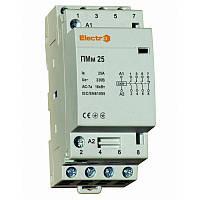 Модульний контактор ПМм, 4 полюси, 25 А, фото 1