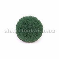Круг скотч-брайт на липучке 30 мм P 240 (зеленый)