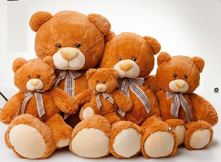 Мягкая игрушка большой медведь Тедди