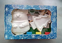 Новогодний набор гипсовых фигурок для творчества. Різдвяний набір гіпсових фігурок для творчості №74
