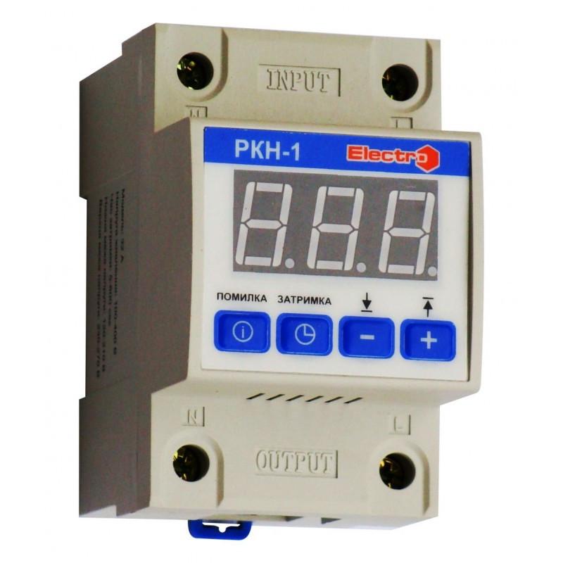 Автоматичне реле контролю напруги РКН-1 цифрове (з вольтметром)