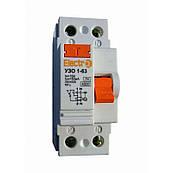 Пристрій захисного відключення УЗО 1-63,2P