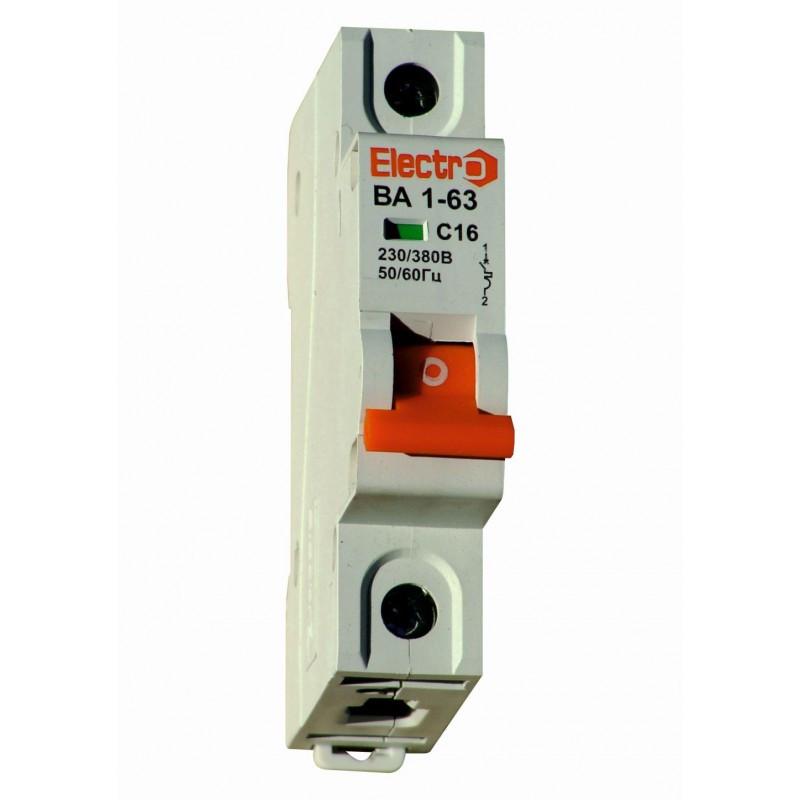 Автоматичний вимикач ВА1-63, 6,0 кА