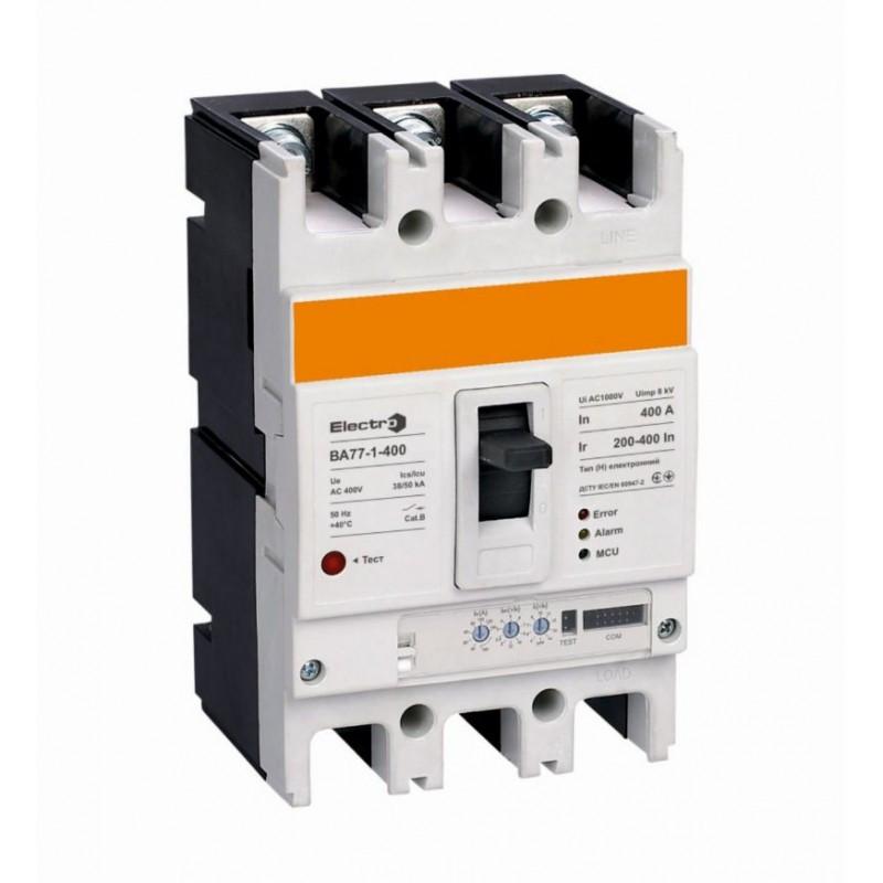 Автоматичні вимикачі серії ВА77-1-630, 630 А (тип HE) електронні