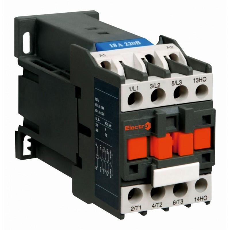 Контактор електромагнітний ПМЛо-1-12 з котушкою постійного струму