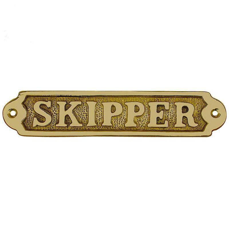 Морской сувенир Sea Club табличка на двери Шкипер 7570. V