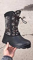 Сапоги мужские зимние камуфляж на шнуровке оптом, фото 1