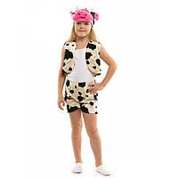 Велюровый детский костюм Коровки на карнавал 3 до 7 лет