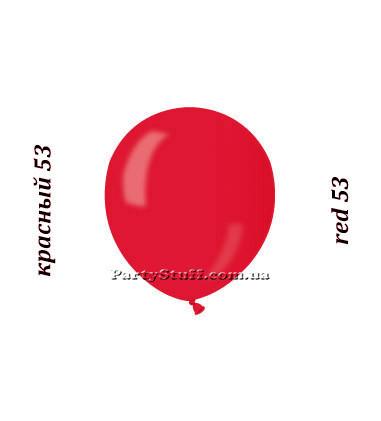 Шарики надувные Gemar АМ50 Красный