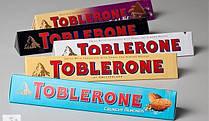 Швейцарский черный шоколад Toblerone 9 вкусов в ассортименте 100г