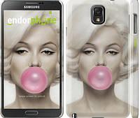 """Чехол на Samsung Galaxy Note 3 N9000 Мэрлин Монро """"1833c-29"""""""