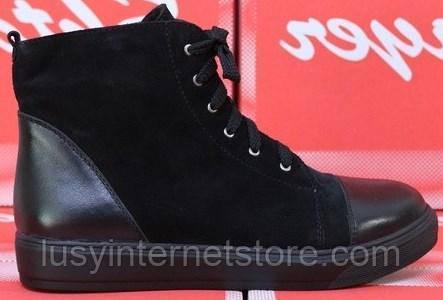 Ботинки женские зимние на платформе от производителя модель СТБ17